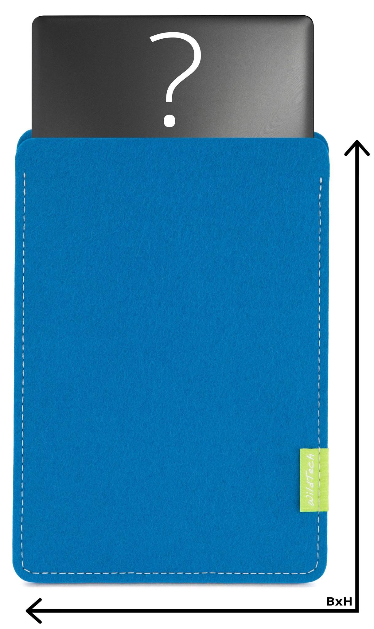 Individuelles Notebook Sleeve Petrol-1