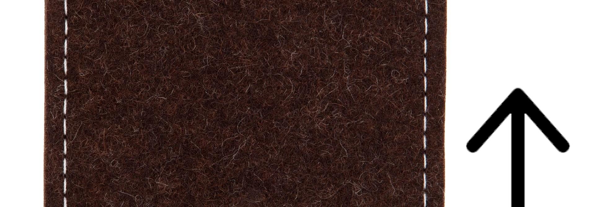 Individual Smartphone Sleeve Truffle-Brown
