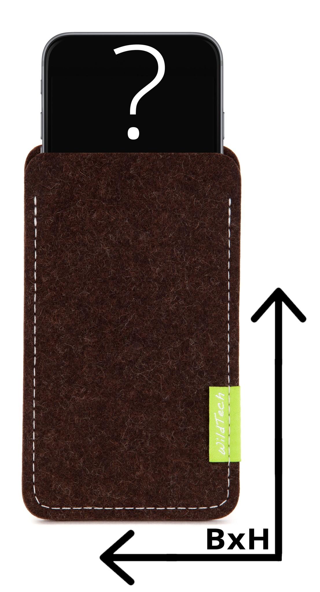 Individual Smartphone Sleeve Truffle-Brown-1