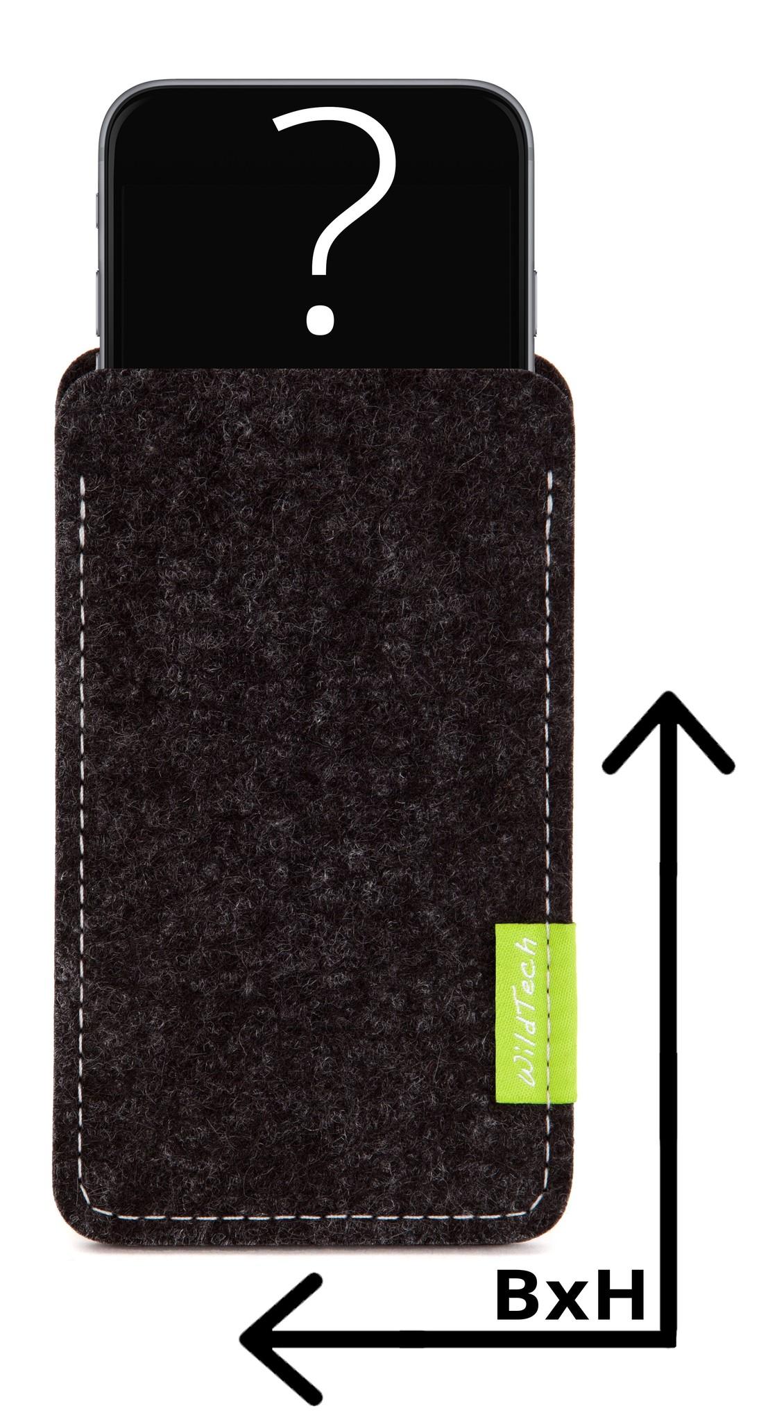 Individuelles Smartphone Sleeve Anthrazit-1