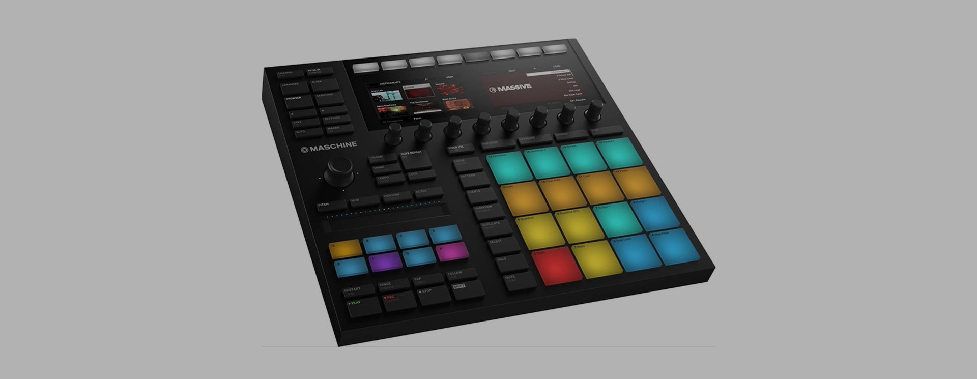 Native Instruments Maschine DeckCover