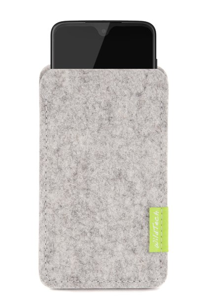 Moto Sleeve Light-Grey