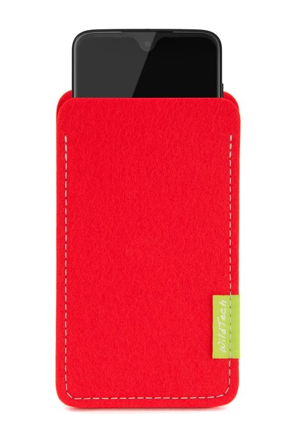 Moto Sleeve Bright-Red