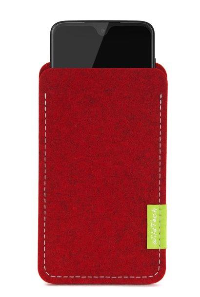 Moto Sleeve Cherry