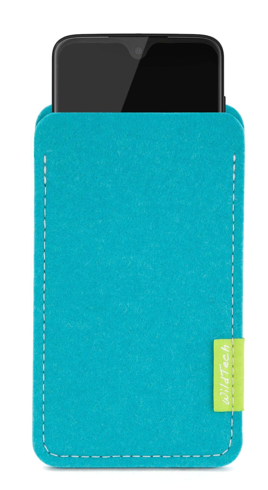 Moto Sleeve Turquoise-1