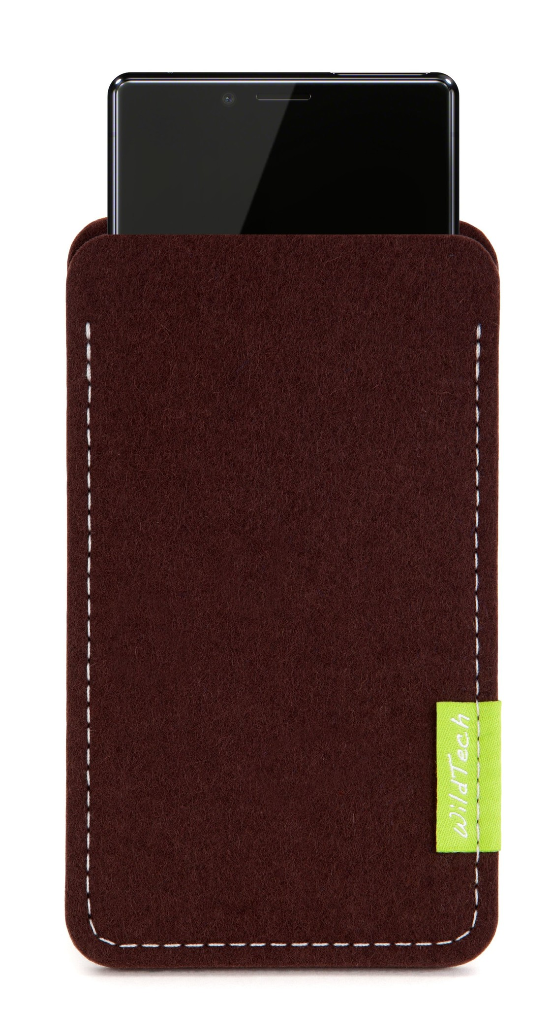 Xperia Sleeve Dark-Brown-1