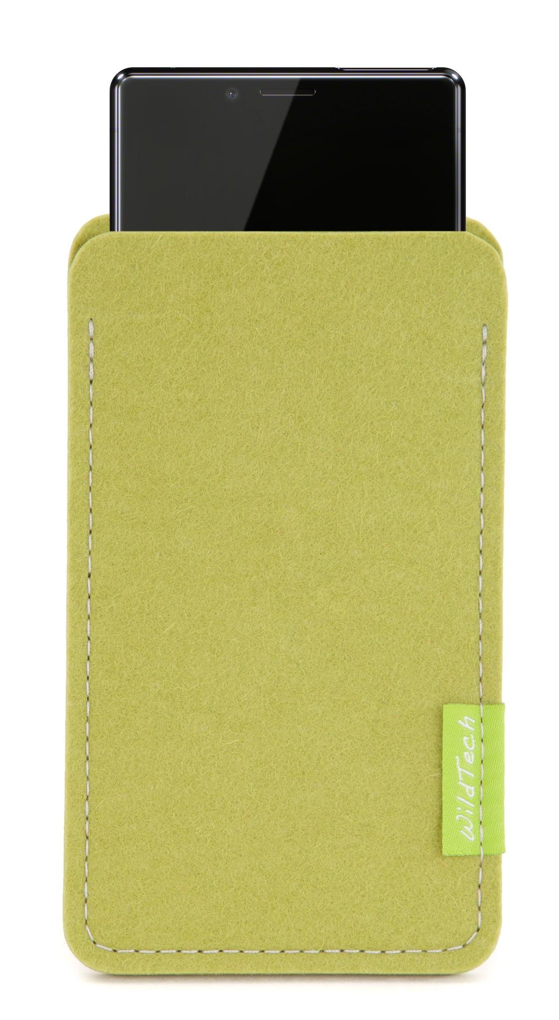Xperia Sleeve Lime-Green-1