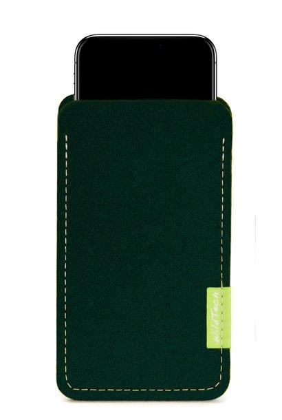 iPhone Sleeve Nachtgrün