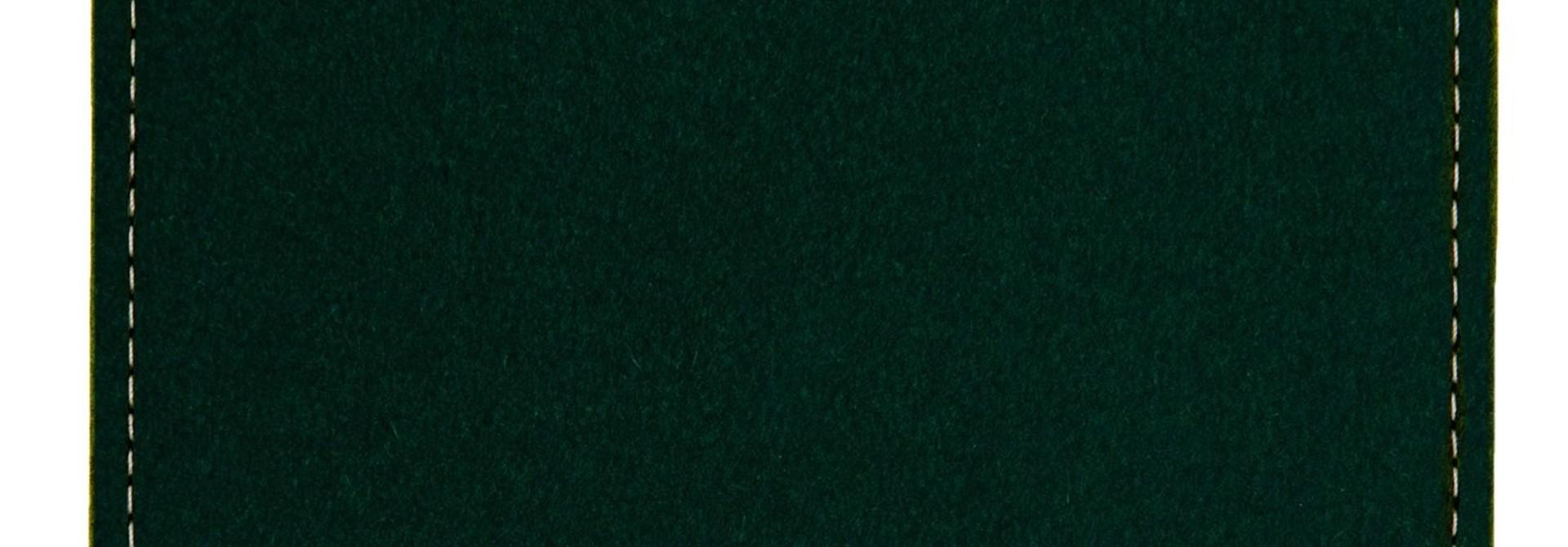 iPad Sleeve Midnight Green