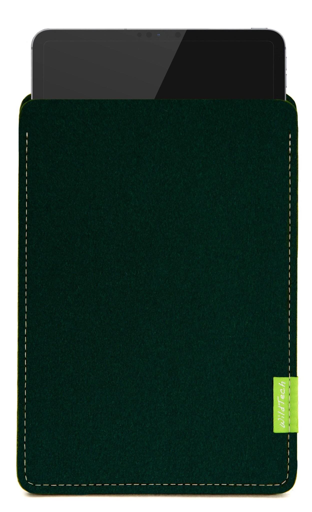 iPad Sleeve Midnight Green-1