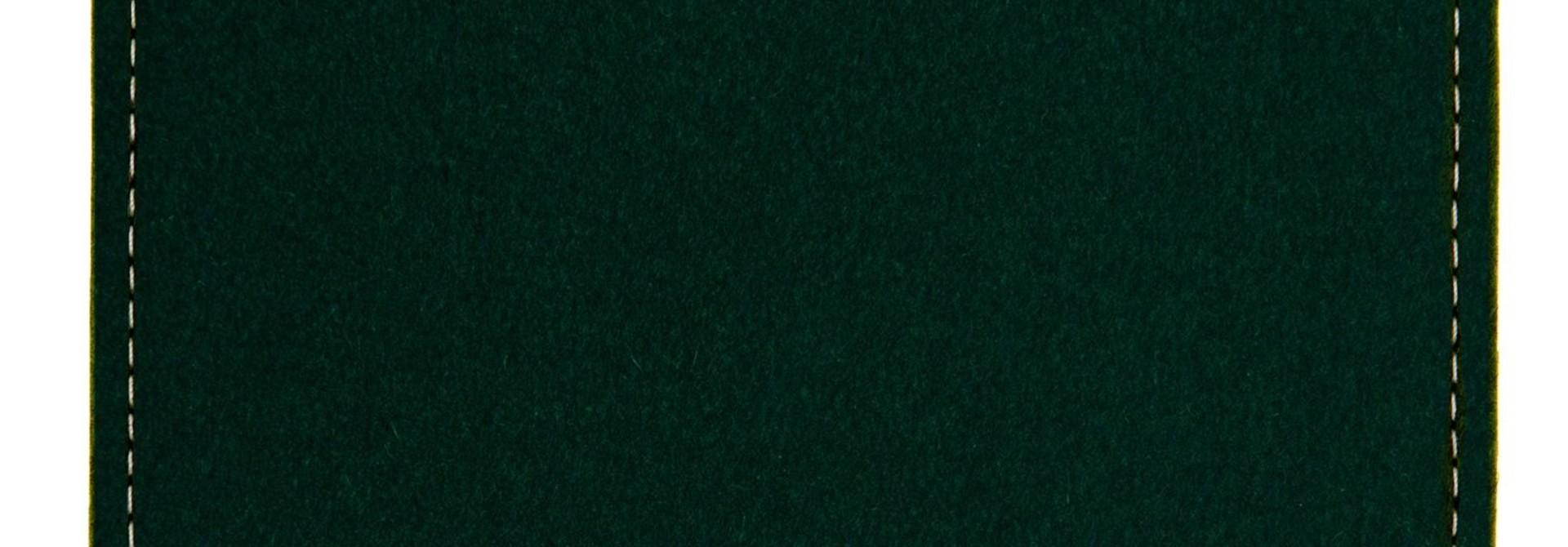 MacBook Sleeve Nachtgrün