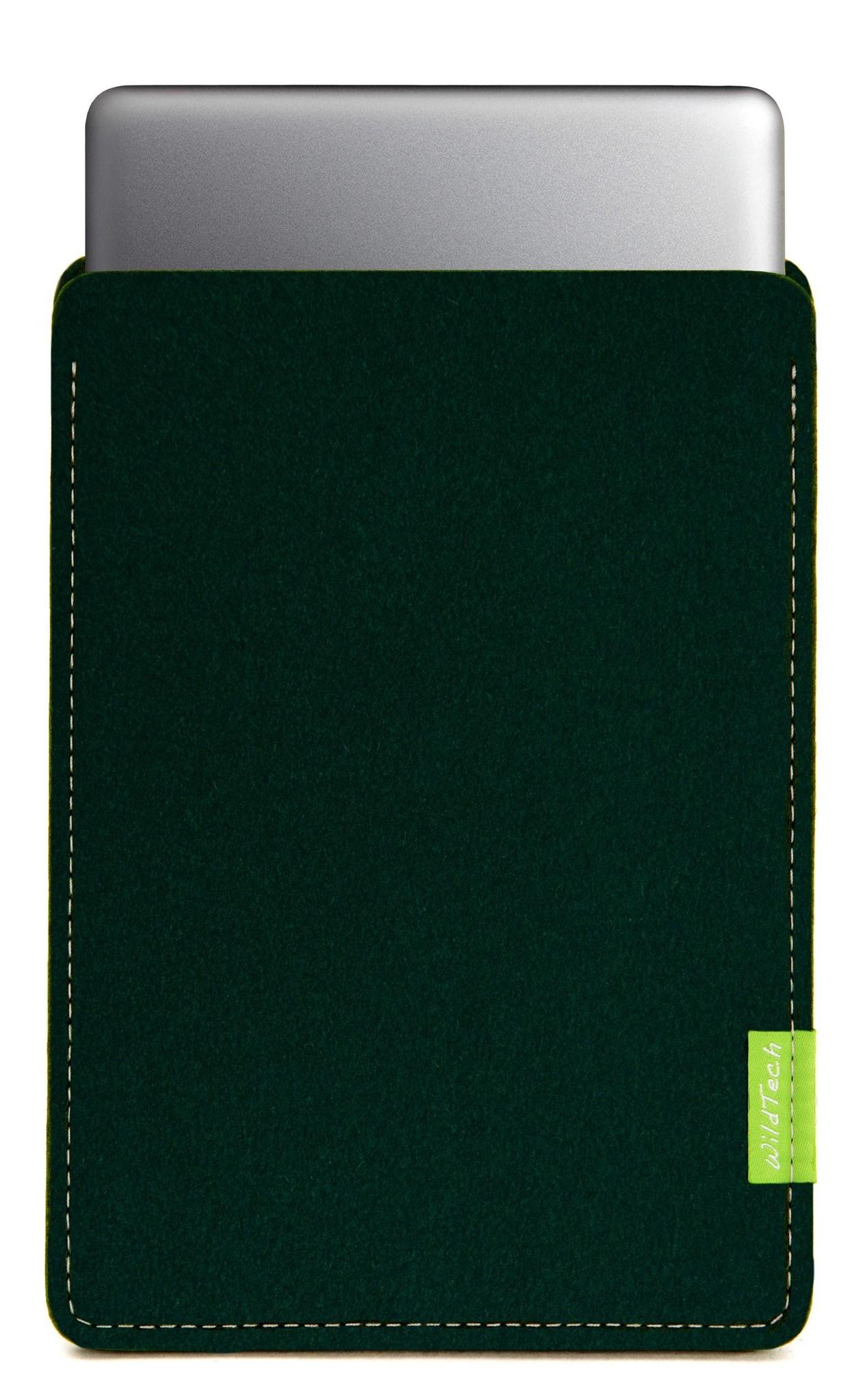 MacBook Sleeve Nachtgrün-1