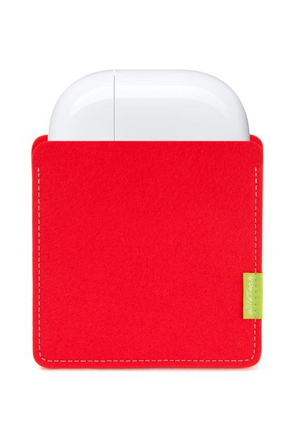 AirPods Sleeve Bright-Red