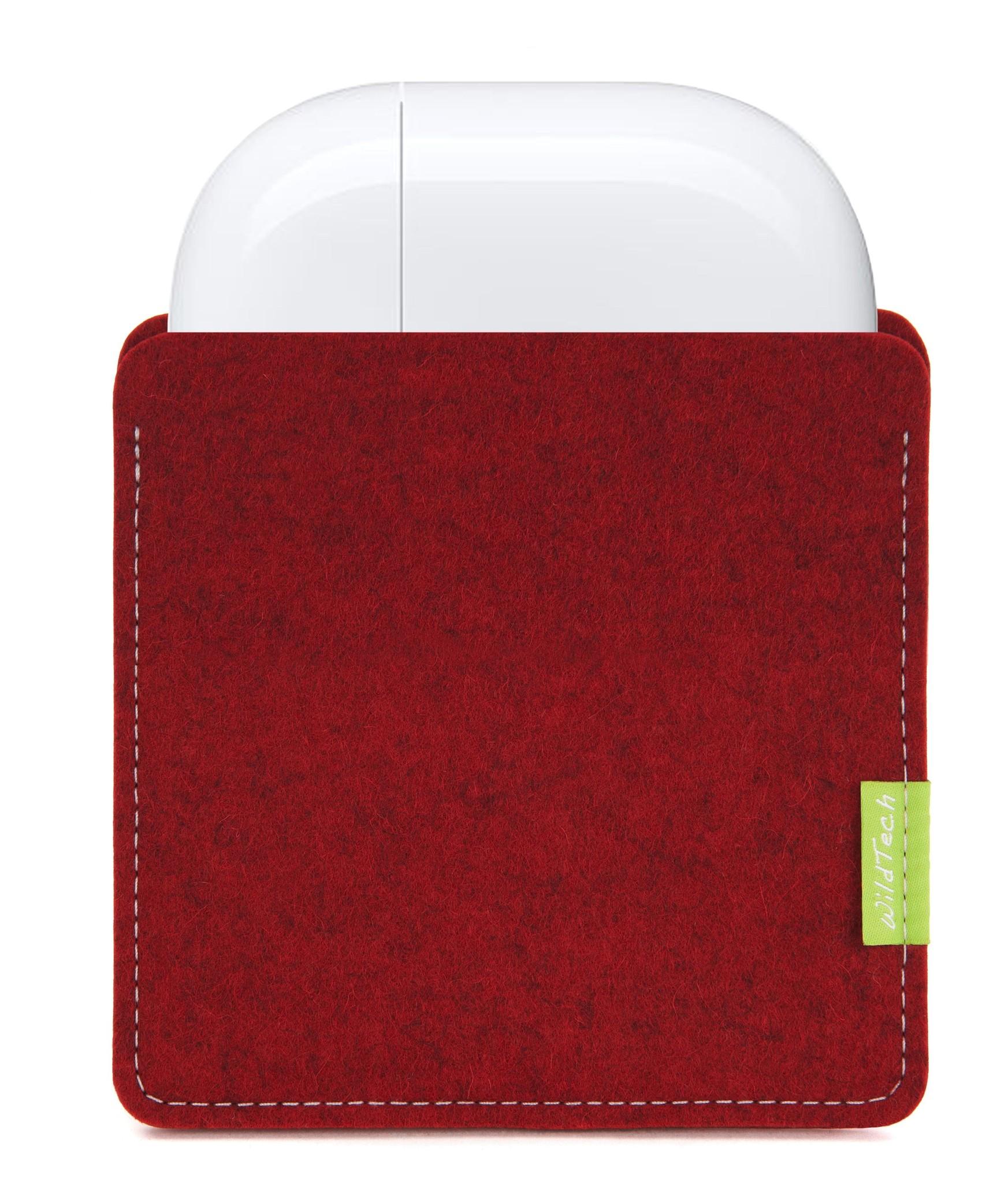 AirPods Sleeve Cherry-1