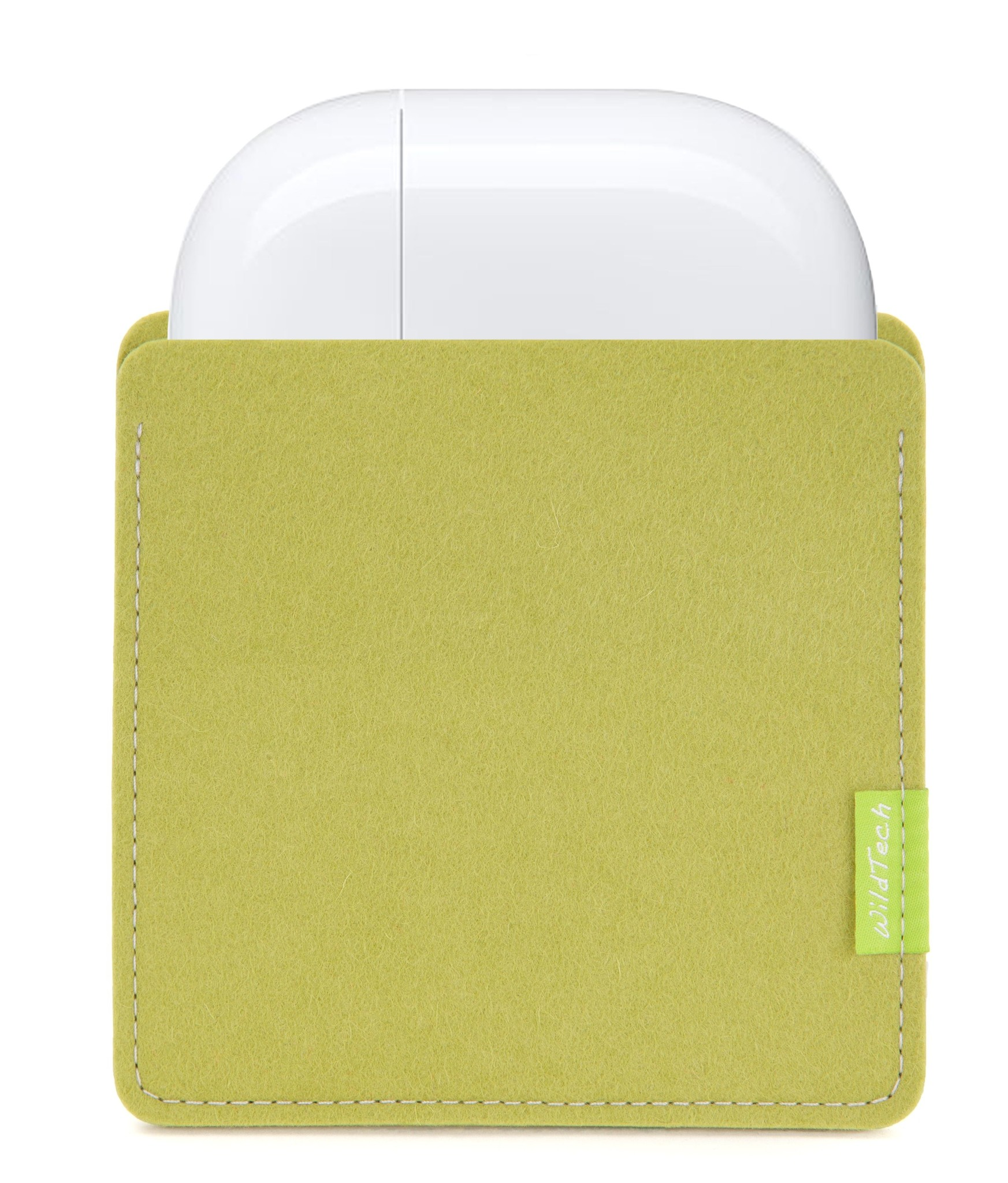 AirPods Sleeve Lime-Green-1