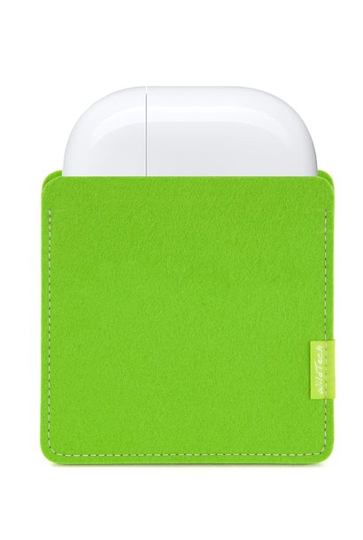 AirPods Sleeve Maigrün