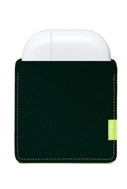 AirPods Sleeve Nachtgrün