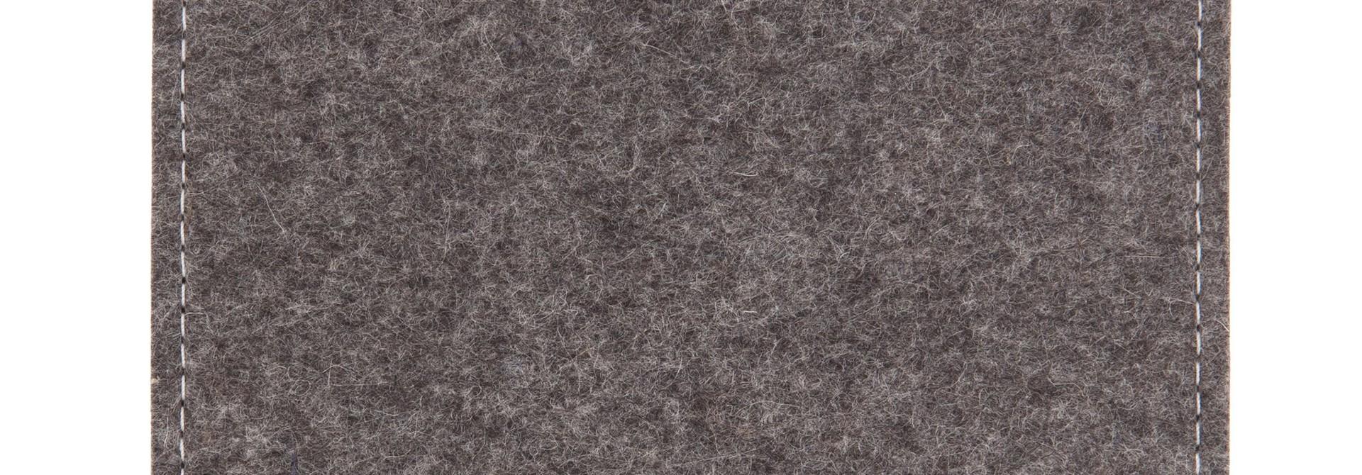 Paper Tablet Sleeve Grau