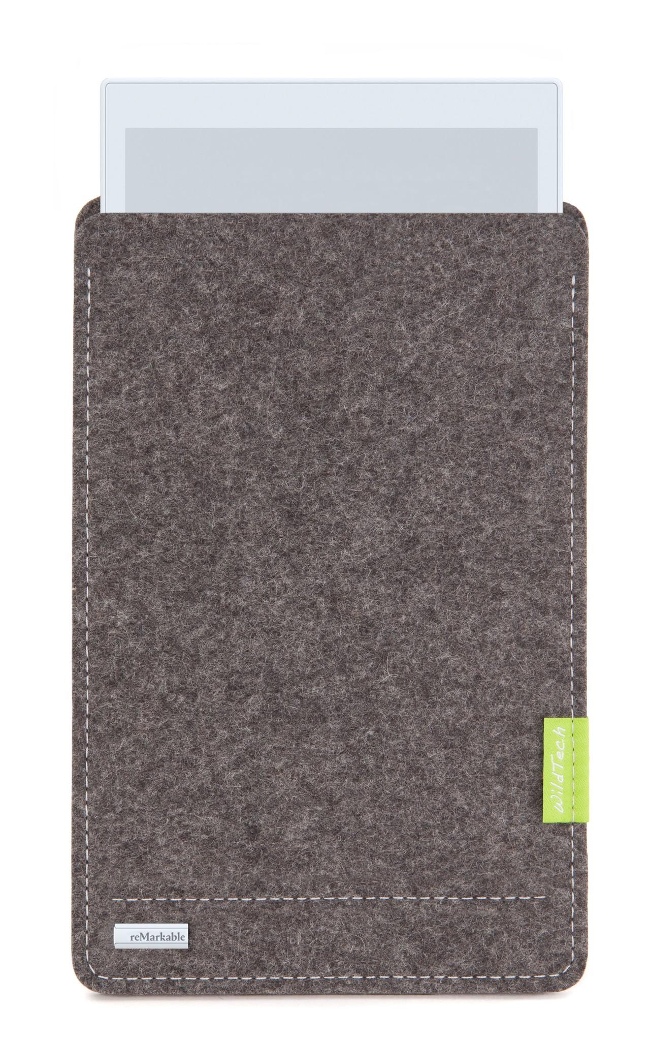 Paper Tablet Sleeve Grau-1