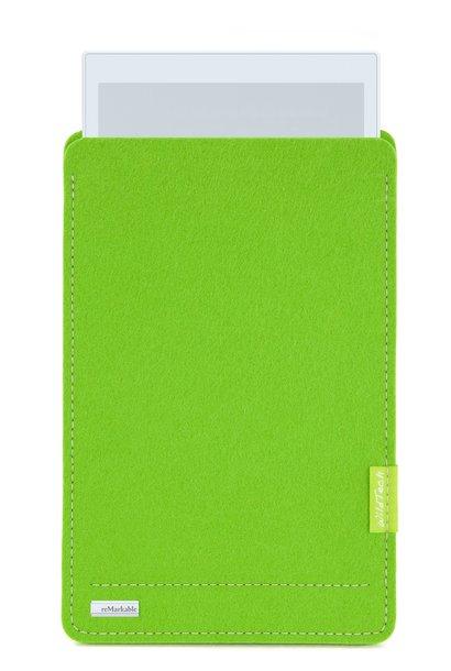 Paper Tablet Sleeve Maigrün