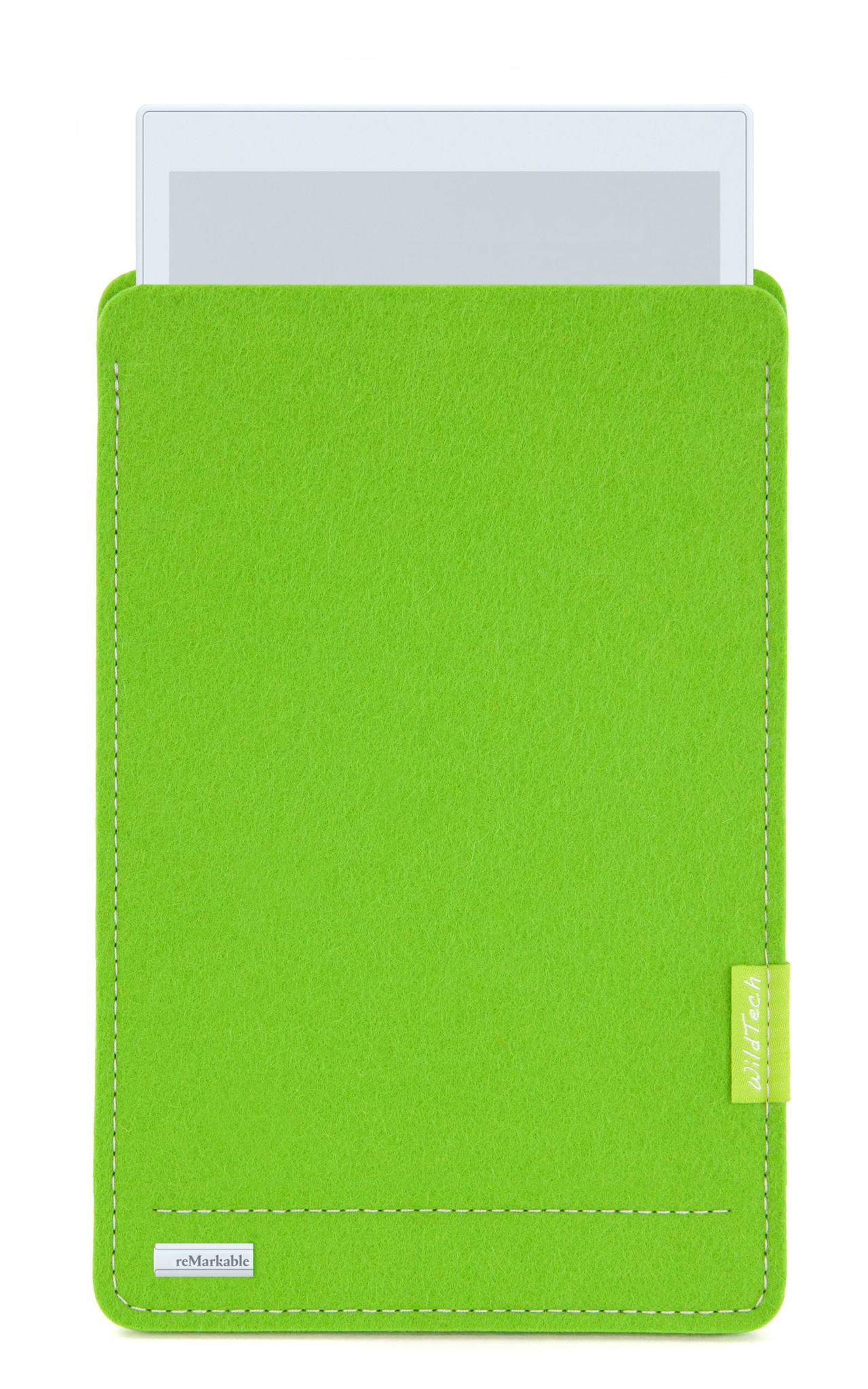 Paper Tablet Sleeve Bright-Green-1