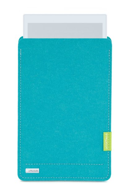 Paper Tablet Sleeve Turquoise