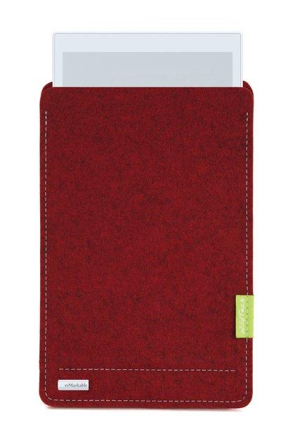 Paper Tablet Sleeve Kirschrot