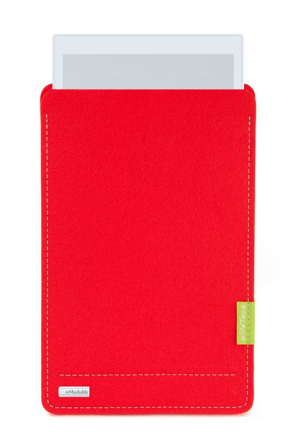 Paper Tablet Sleeve Bright-Red