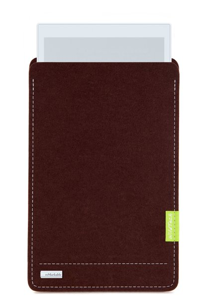 Paper Tablet Sleeve Dunkelbraun