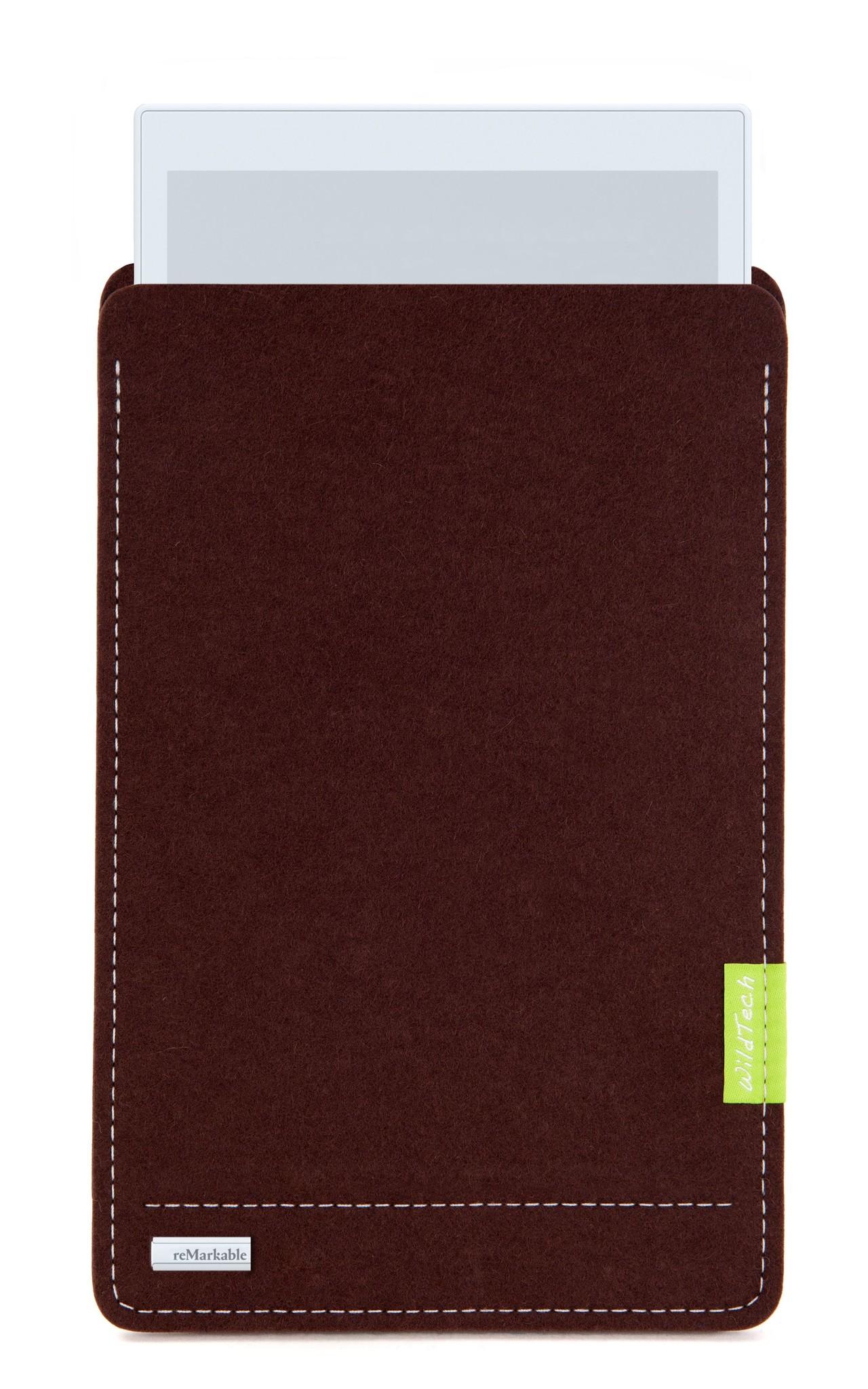 Paper Tablet Sleeve Dunkelbraun-1