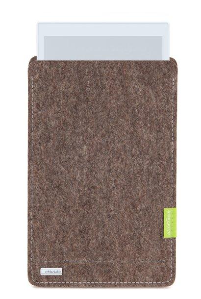 Paper Tablet Sleeve Natur-Meliert