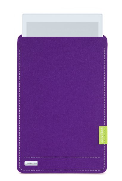 Paper Tablet Sleeve Lila