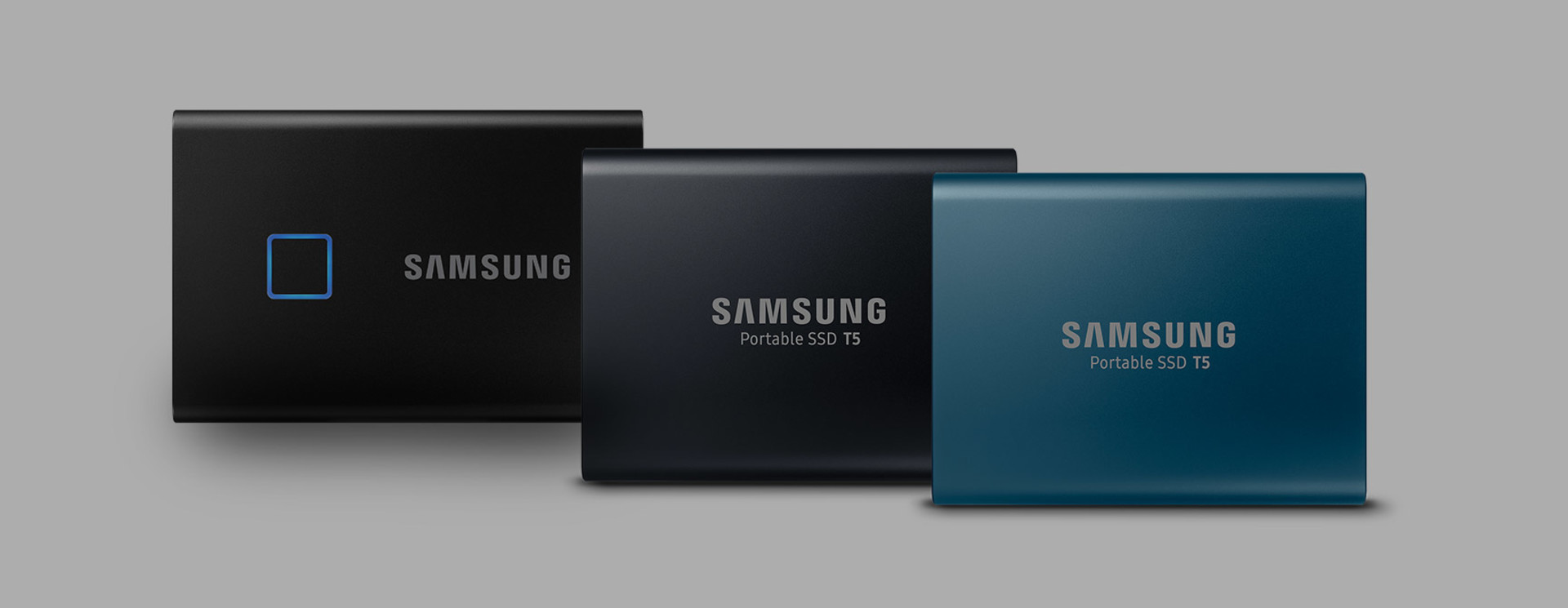 Samsung Portable SSD T7 Touch, T5 & T3 Sleeves & Cases