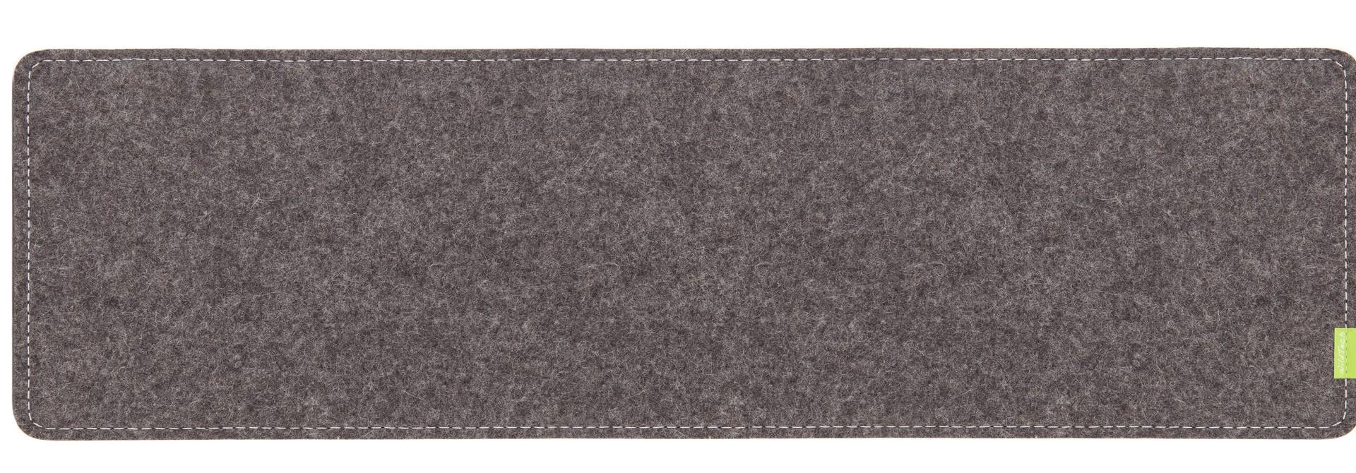 Schreibtischunterlage Grau