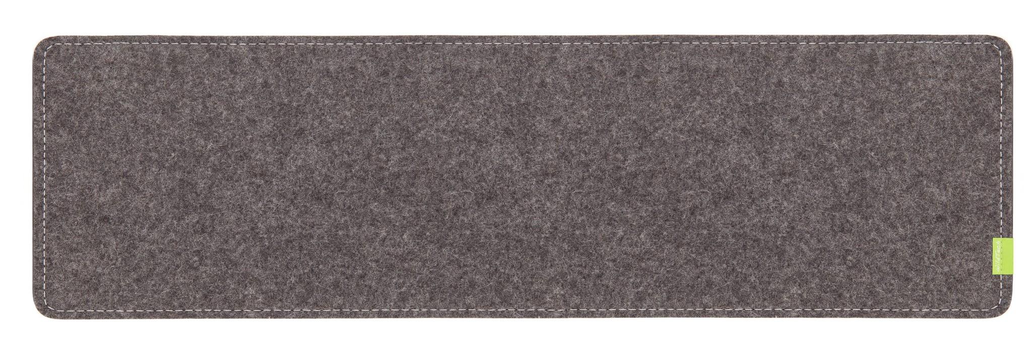 Schreibtischunterlage Grau-1