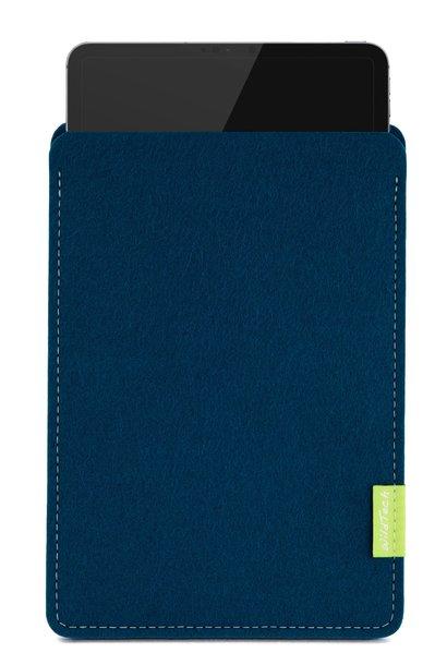 iPad Sleeve Pazifikblau