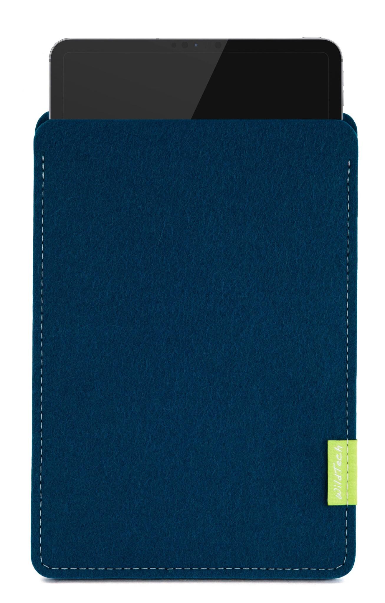iPad Sleeve Pazifikblau-1