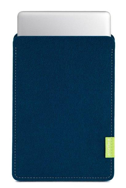 MacBook Sleeve Pazifikblau