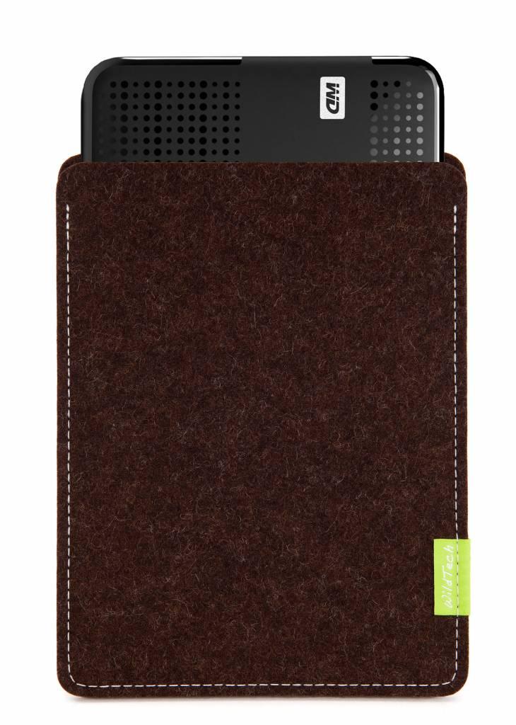 Passport/Elements Sleeve Trüffelbraun-1