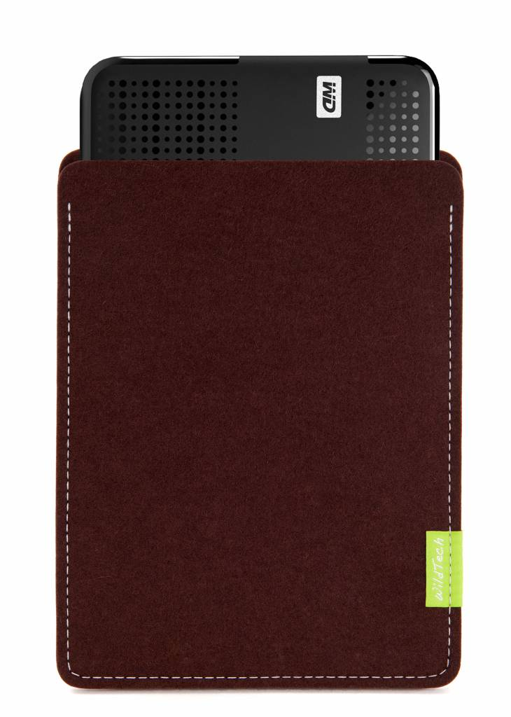 Passport/Elements Sleeve Dunkelbraun-1