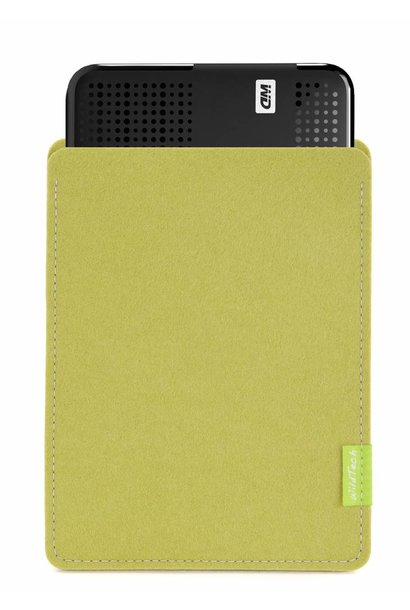 Passport/Elements Sleeve Lime-Green