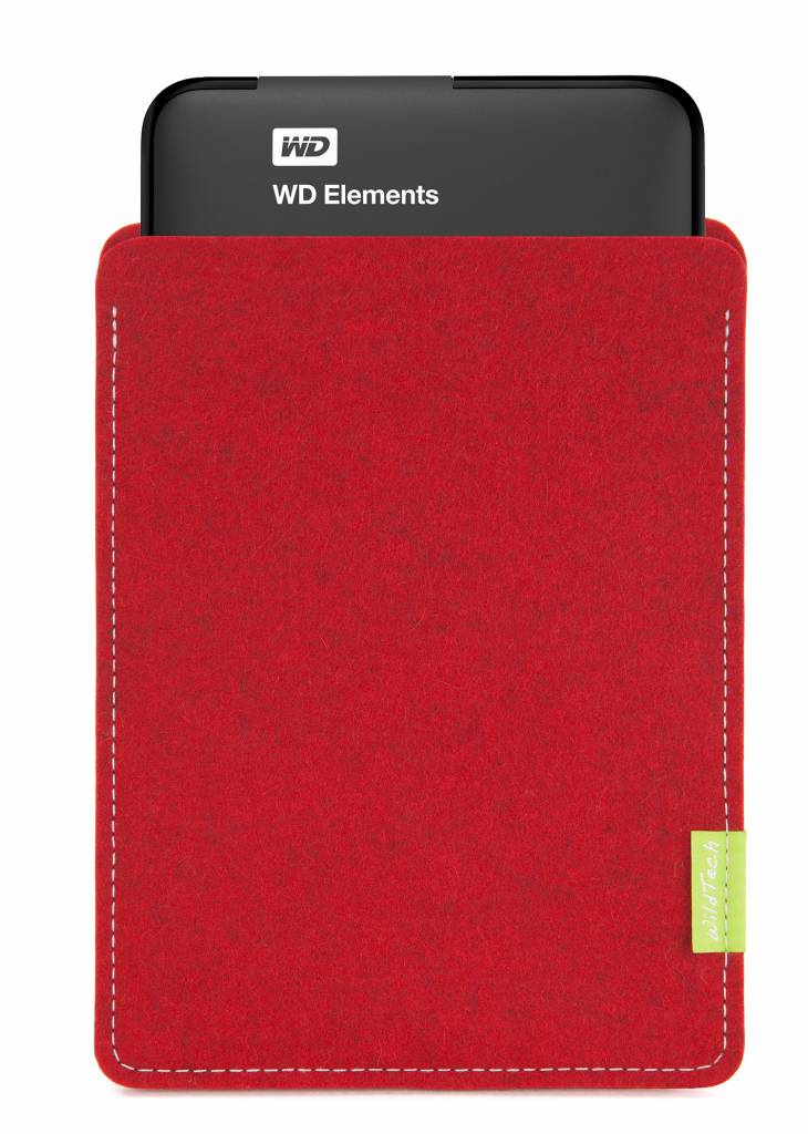 Passport/Elements Sleeve Kirschrot-3