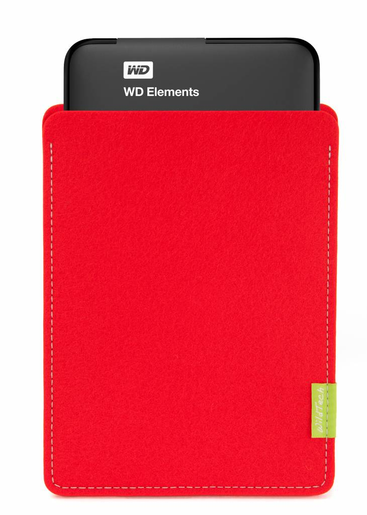Passport/Elements Sleeve Bright-Red-3