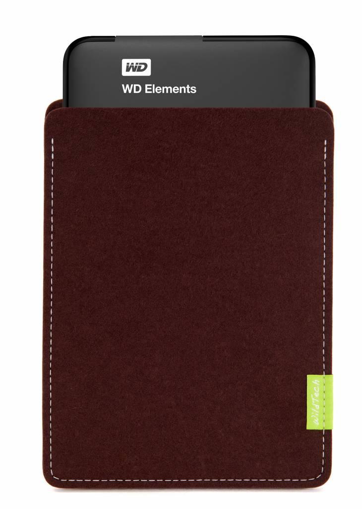Passport/Elements Sleeve Dunkelbraun-2