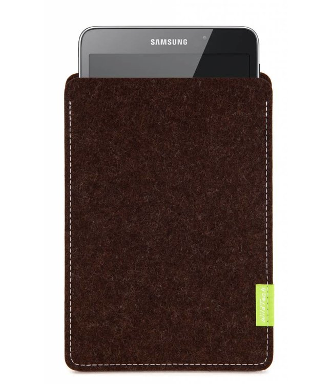 Samsung Galaxy Tablet Sleeve Trüffelbraun