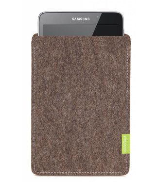 Samsung Galaxy Tablet Sleeve Natur-Meliert