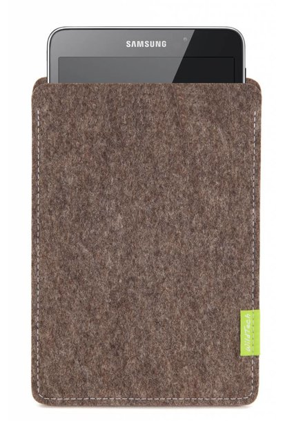 Galaxy Tablet Sleeve Natur-Meliert