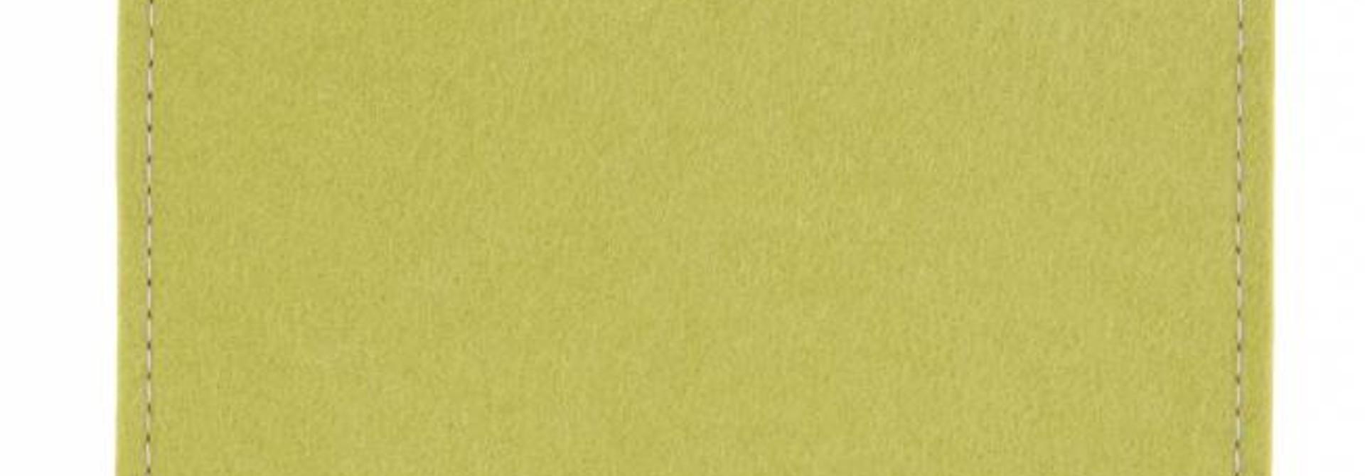 Galaxy Tablet Sleeve Lindgrün