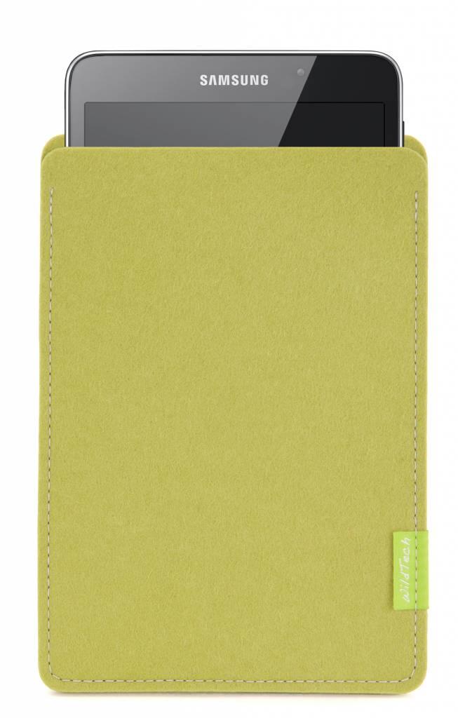 Galaxy Tablet Sleeve Lindgrün-1