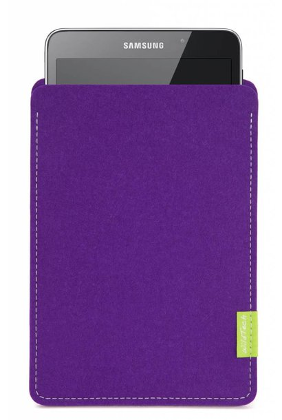 Galaxy Tablet Sleeve Purple